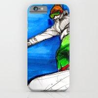 Snowboarder girl iPhone 6 Slim Case