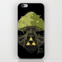 Deku Tree Full Colour iPhone & iPod Skin