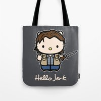 Hello Jerk Tote Bag