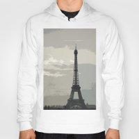 Eiffel Tower in Fog Hoody
