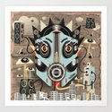 Ubiquity sound Art Print