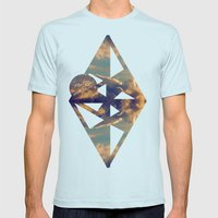 That Doesn't Matter Up Here Mens Fitted Tee Light Blue SMALL