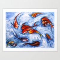 Fish #6 Art Print