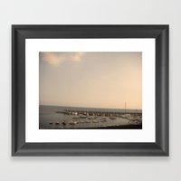 amalfi 316 Framed Art Print