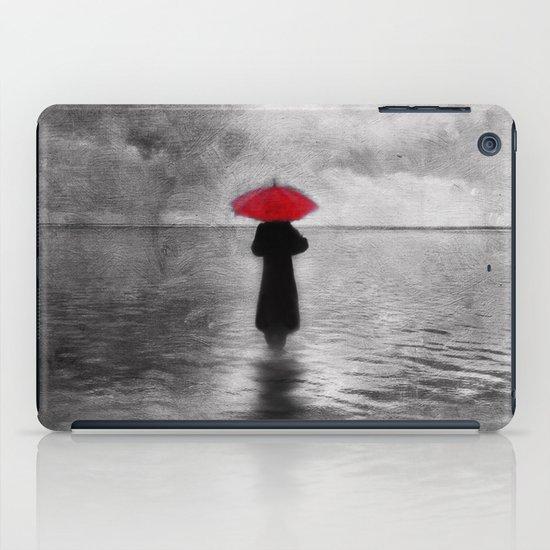 waiting in the sea II  -  by Viviana Gonzalez iPad Case
