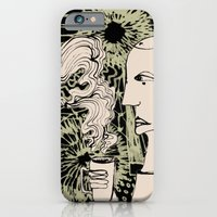 Cafe Drawing iPhone 6 Slim Case
