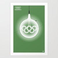 Olympics #6 Art Print