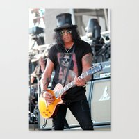 Slash Canvas Print