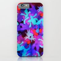 iPhone & iPod Case featuring Experimental Abstraction: Part II by Erika Noel Design