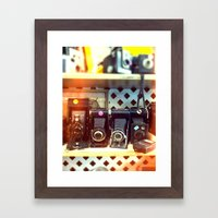 Camera Shop Framed Art Print