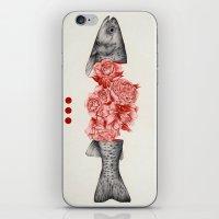 To Bloom Not Bleed II iPhone & iPod Skin