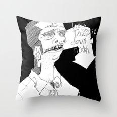 Let's take it down a notch. Throw Pillow