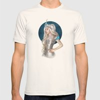 Ice Queen  Mens Fitted Tee Natural SMALL