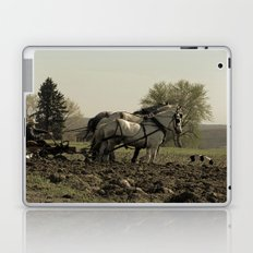 Tilling the Fields Laptop & iPad Skin