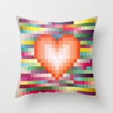 Mega ☐ Love_Grunge Throw Pillow