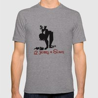 12 Years a Slave Mens Fitted Tee Athletic Grey SMALL
