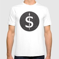 S6 Tee Mens Fitted Tee White SMALL