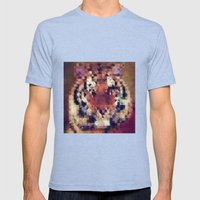 Tigris Mens Fitted Tee Tri-Blue SMALL