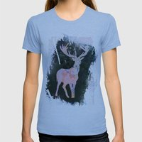 Rudolph Womens Fitted Tee Athletic Blue SMALL