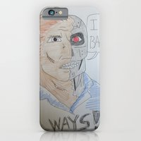 iPhone & iPod Case featuring Bootleg Series: Cyborg Future Guy by New Rustic Future