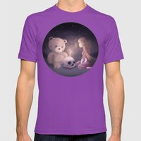 Happy Birthday Mens Fitted Tee Ultraviolet SMALL