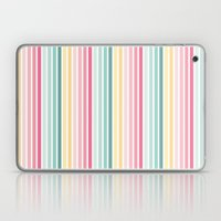 Candy stripe Laptop & iPad Skin