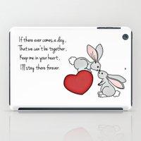 Snuggle Bunnies iPad Case