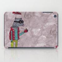 006_raccoon iPad Case
