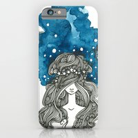 iPhone & iPod Case featuring Starry Night by PiqueStudios