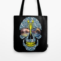 DEAD SKULL  Tote Bag