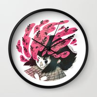 Nature vs Nurture Wall Clock