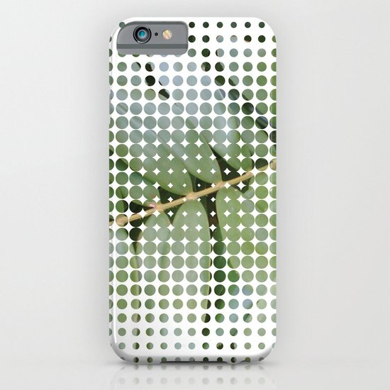 mesh white iPhone & iPod Case