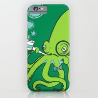 iPhone & iPod Case featuring Mr.Octopus by Fran Court