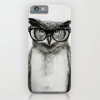 owl iPhone & iPod Cases featuring Mr. Owl by Isaiah K. Stephens