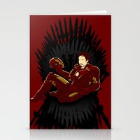 Iron Throne Stationery Cards