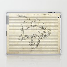 Beethoven Laptop & iPad Skin