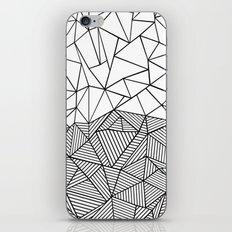 Ab Half N Half iPhone & iPod Skin