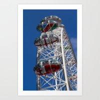 The London Eye Rugby Wor… Art Print
