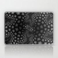 Black and White Fractal 1 Laptop & iPad Skin