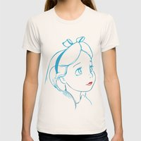 Alice Womens Fitted Tee Natural SMALL
