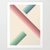 Vintage Geometric Art Print