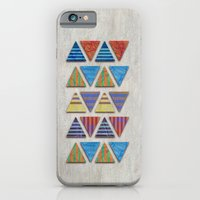 iPhone & iPod Case featuring Triangular composition by Annike