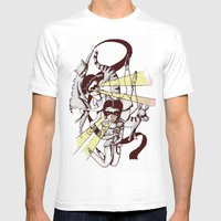 Hiros Mens Fitted Tee White SMALL