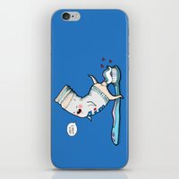 Open Wide! iPhone & iPod Skin