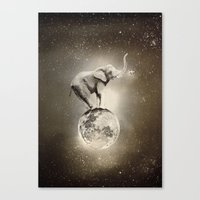 Space collection : True Love Canvas Print