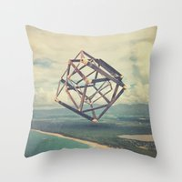 The Bizarre Vo1 Throw Pillow