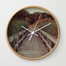 Our Youth is Fleeting, Old Age is Just Around the Bend. Wall Clock