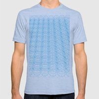 Circle Tromp L'Oeil Mens Fitted Tee Athletic Blue SMALL