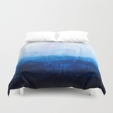 All good things are wild and free - Ocean Ombre Painting Duvet Cover