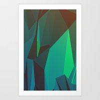 Cave Dweller Art Print